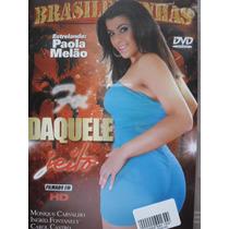 Dvd Daquele Jeito Paola Melao Brasileirinhas Frete Grátis