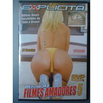 Dvd Pornô/erótico Original ´ Filmes Amadores 5 ´