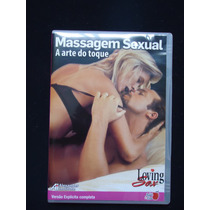 Dvd Massagem Sexual - A Arte Do Toque Versão Explicita
