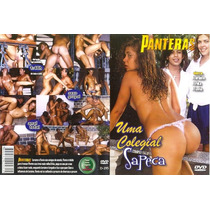 Dvd Uma Colegial Sapeca As Panteras Seminovo Original