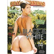 Dvd - Black E White 14 - Brasileirinhas (usado)