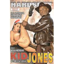 Dvd - Kid Jones No Templo Da Fudeção - Kid Bengala - Hardse