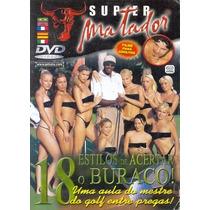 Dvd 18 Estilos De Acertar O Buraco Matador Seminovo Original