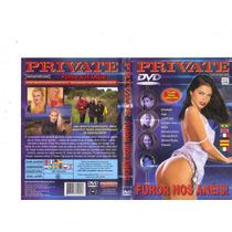 Dvd Private Furor Nos Anéis!, Pornografico, Anal, Original