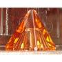 Soberba,rara Escultura Cristalsalmon Reckziegel Hermanos 60s