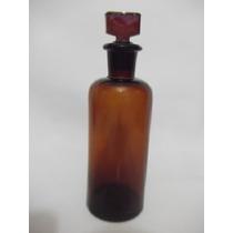 B. Antigo - Frasco Ou Vidro Antigo De Farmácia