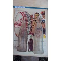 Garrafa Rara Da Coca Cola Caçulinha Anos 50 Alto Relevo