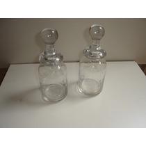 Lindissimo Perfumeiro Vidro Crystal Transparente Tampa Antig