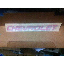 Decalque Tampa Traseira Chevrolet Monza Club Original Gm