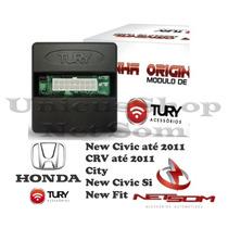 Modulo Levantador Vidro New Civic Fit City Crv Plug E Play