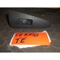 Botão De Vidro Tras. Esquerdo Kia Cerato - Sport Car