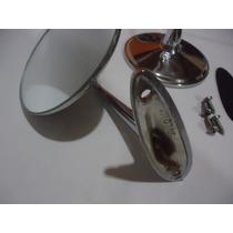 Espelho Retrovisor Opala Ss Friso Lanterna Grade 6c Moldura