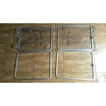 Moldura Vidro Lateral Kombi Antiga Em Alumínio Nova