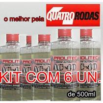 Cristalizador De Vidros E Removedor De Chuva Ácida 6un.500ml