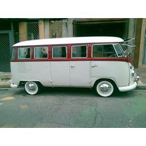 Kit De Borrachas Kombi Até 1975 Todas Vw Bus T1 Corujinha