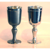 Belíssimo Cálice Para Vinho - Taça - Estanho John Somers