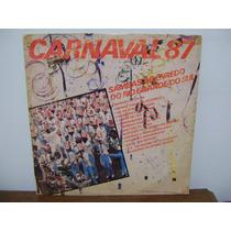 Disco Vinil Lp Sambas Enredo Carnaval 1987 Rio Grande Do Sul