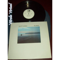 Lp Scott Cossu Islands 1987 Windham Hill Records