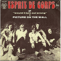 Esprit De Corps - Compacto If/picture On The Wall France -rv