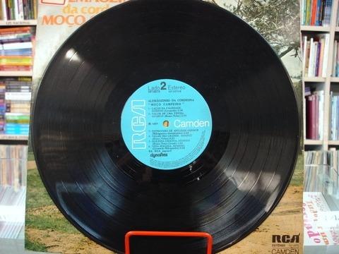 Vinil / Lp - Alemãozinho Da Cordeona - Moço Campeiro - 1977
