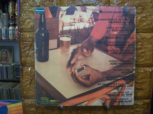Vinil Lp Clube Do Samba Vol.3 -alcione,beth,bezerra,martinho