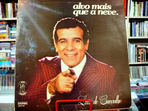 Vinil / Lp - Luiz De Carvalho - Alvo Mais Que A Neve - 1978