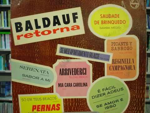 Vinil / Lp - Norberto Baldauf - Baldauf Retorna