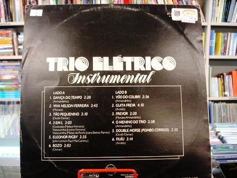 Vinil / Lp - Trio Elétrico Instrumental - 1982