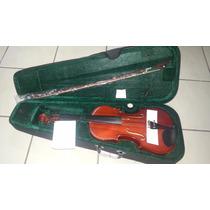 Viola De Arco 4/4 Michael Com Case