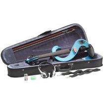 Violino Stagg Evn 4/4 Mbl Elétrico C/ Case Em Maple 6698