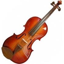 Violino Rolim 4/4 Artesanal Sombreado Verniz Claro.