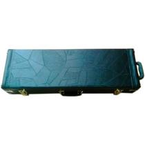 Estojo Case P/ Violino 4/4 Retangular Mod. Extra Luxo Preto