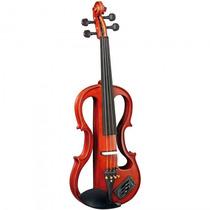 Violino Eagle Evk-744 Stnt Natural Elétrico Estojo -refinado
