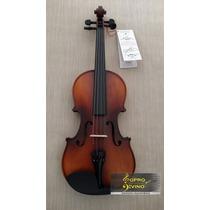 Violino Giannini Giv Af 4/4 Natural Estojo Arco Espaleira
