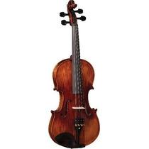Ritmus ! Eagle Vk544 : Violino 4/4 Maciço Fundo Peça Única