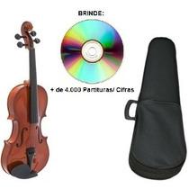 Violino 1/2 Giannini Infantil + Arco+ Breu+ Estojo Promoção