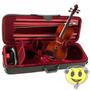 Violino Michael Ébano 4/4 Vnm47 Envelhecido + Estojo Oferta