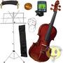 Violino Eagle 441 Kit Partitura + Afinador + Cordas + Breu