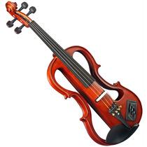 Violino Elétrico Ev744 4/4 Acetinado Eagle Com Estojo Higrôm