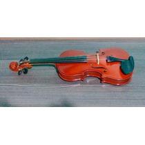 Violino Vogga Von144 4/4 Arco De Crina Animal Verniz - Troca