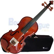 Violino Com Estojo Extra Luxo 4/4 Ve441 Eagle