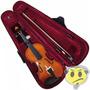 Violino Concert 3/4 Estojo Luxo Arco Crina Breu - Kadu Som
