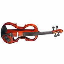 Violino 4/4 Eagle Ev744 Elétrico Profissional