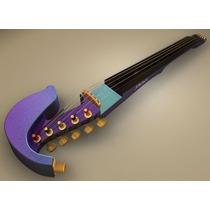 Jordan 4 String Electric Violin - Harlequin Violino Elétrico