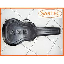 Case Estojo Kgb Para Violão Folk Super Reforçado Santec