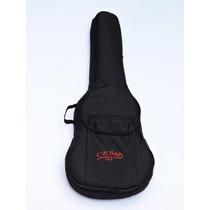 Capa Bag Para Violão Folk Crbag Acolchoada Extra Luxo