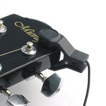 Microfone P10 Captador Para Violão,sax E Outros Instrumentos