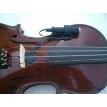 Microfone P10 Captador Contato, Violão,violino, Sax, Etc