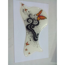 Escudo Rrp Para Violão Folk Ou Jumbo Groove Butterfly