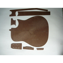 Kit De Moldes Para Violão Folk Cutway- Eddie Luthier